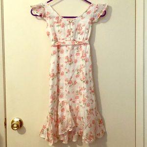 American Living White Floral Girl's Dress